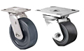 Heavy Duty Swivel Top Plate Casters - Capacity to 1,250 lbs
