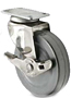 Light Duty - Swivel Top Plate Casters - Capacity to 75 lbs