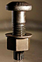 A325 Tension Control Bolt Plain W/ A563 DH Hvy Hex Nut & Rnd F436