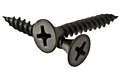 Drywall Screw, Phillips Bugle Head, Gray Phosphated, Low Carbon